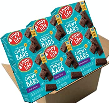 6-Pack Enjoy Life Cocoa Loco Chewy Bars, 5.75 Ounce