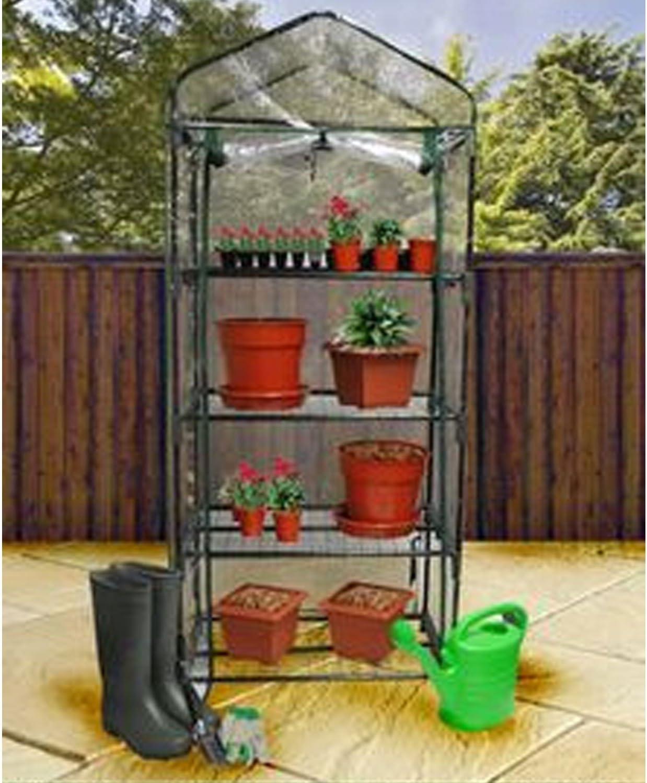 Kingfisher GHPRO Premium - Invernadero de 4 Niveles, Transparente ...