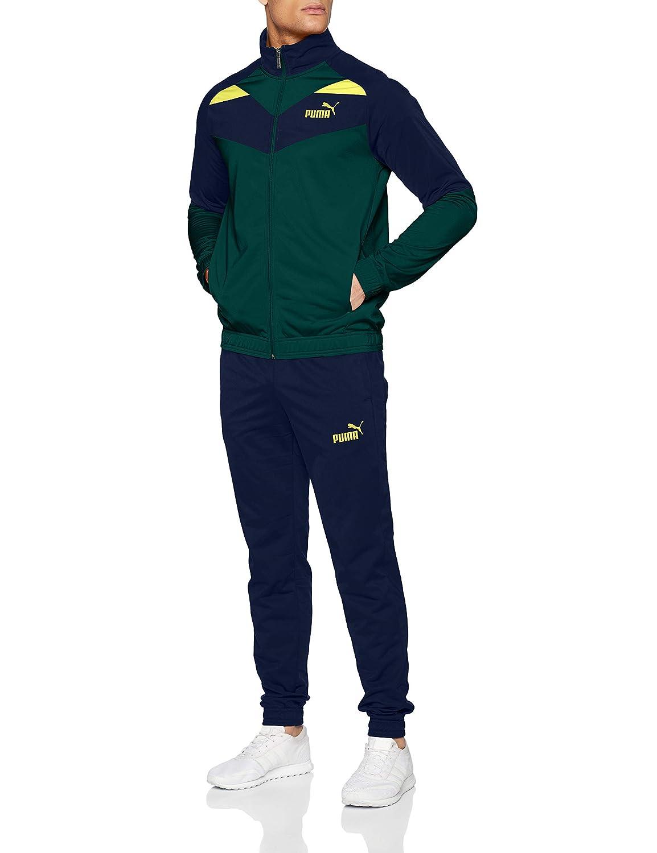 Puma Mens Iconic Tricot Suit Cl Tracksuit