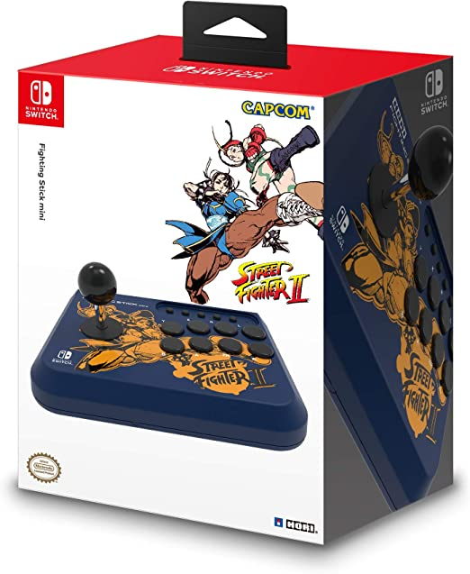 Hori - Fighting Stick Mini, Edición Street Fighter II Chun-Li ...