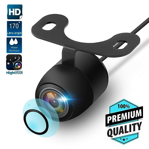 Mouldings & Trim Useful 12v 170° Cmos Waterproof Auto Reversing View Parking Backup Hd Camera Kit White Always Buy Good