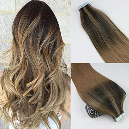 Globalwing Balayage Extension In Veri Capelli Remy Marrone