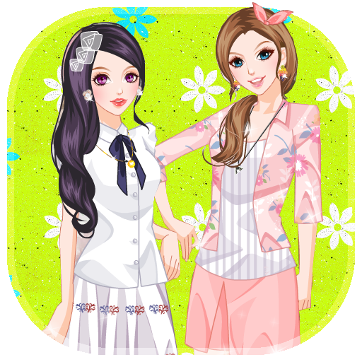 Girls Games For Android: Amazon.com: Best Friends Dress UP : Girls Games: Appstore