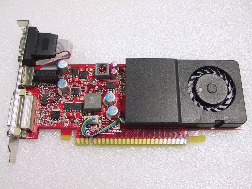 Compaq 533212-001 PCIe NVIDIA GT220 1GB standard bracket graphics card (Topi) by HP