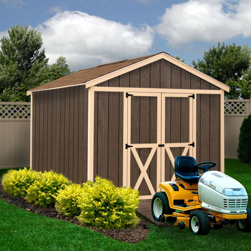 amazon com best barns danbury 8 x 12 wood shed kit garden