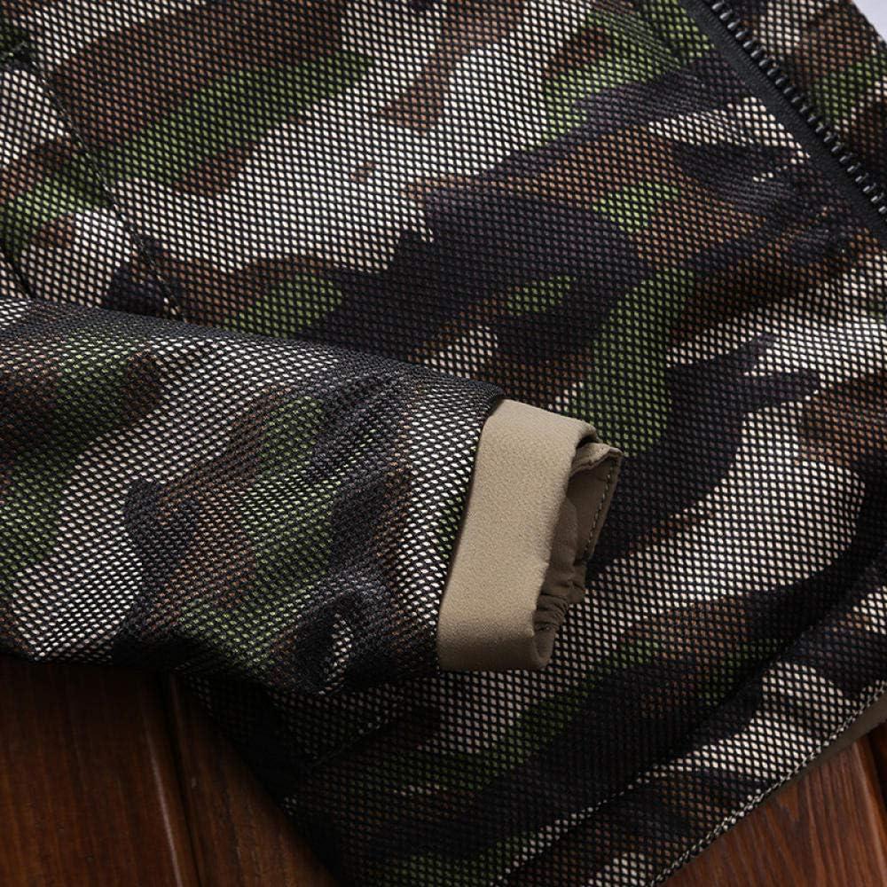 YJWSPD Homme Manteau Laine Slim Classique Trench Mi-Longue Décontractée Duffle-Coats Camouflage extérieur coupe-vent pour homme saphir