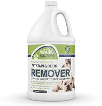 Amaziing Solutions - Limpiador de olores y Manchas para Mascotas ...