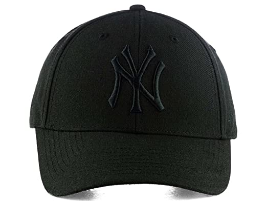 Huntsman Era Flexfit Fitted Strechable NY Baseball caps for Men and Women ( Black) fa81d984477d