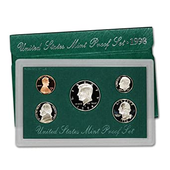 1998 United States Mint Silver Proof Set