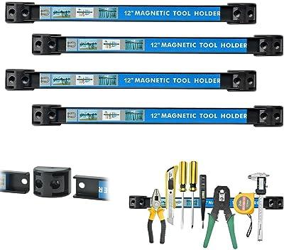 Vanitek Super Strong Metal Magnet Storage Tool Organizer Bars Set