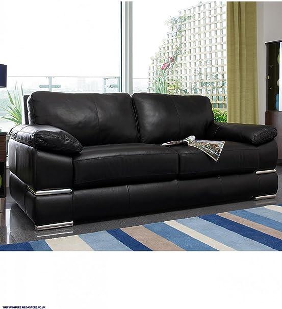Primo 3 Seater plus 2 Seater Leather Sofa Set Italian