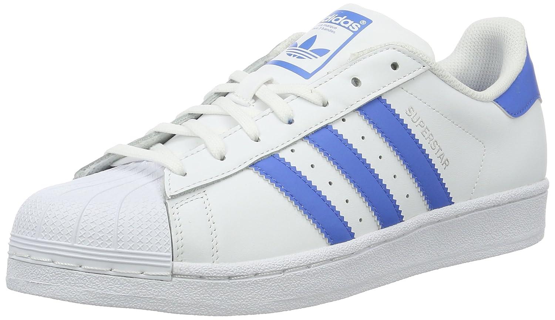 Adidas Superstar, Zapatillas Unisex Adulto 44 2/3 EU|Blanco (Ftwr White/Ray Blue /Ray Blue)