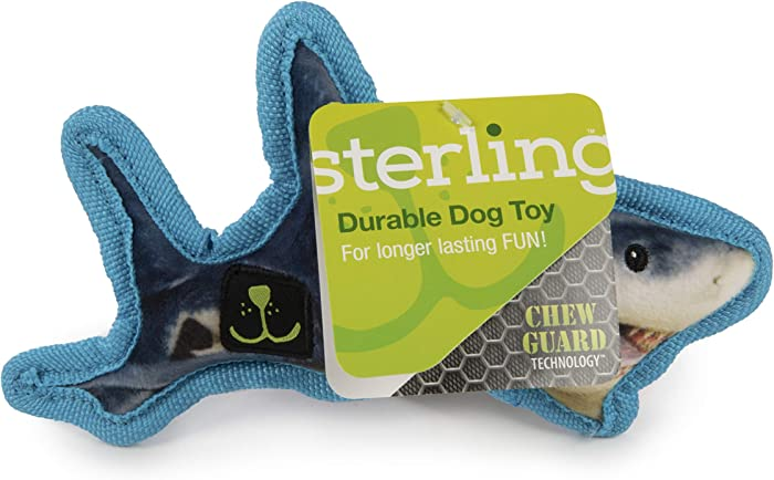 Sterling Plush and Durable Dog Toys with Chew Guard Technology and Squeakers