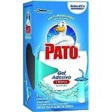 Desodorizador Sanitário Pato Gel Adesivo Refil Marine 6 unidades