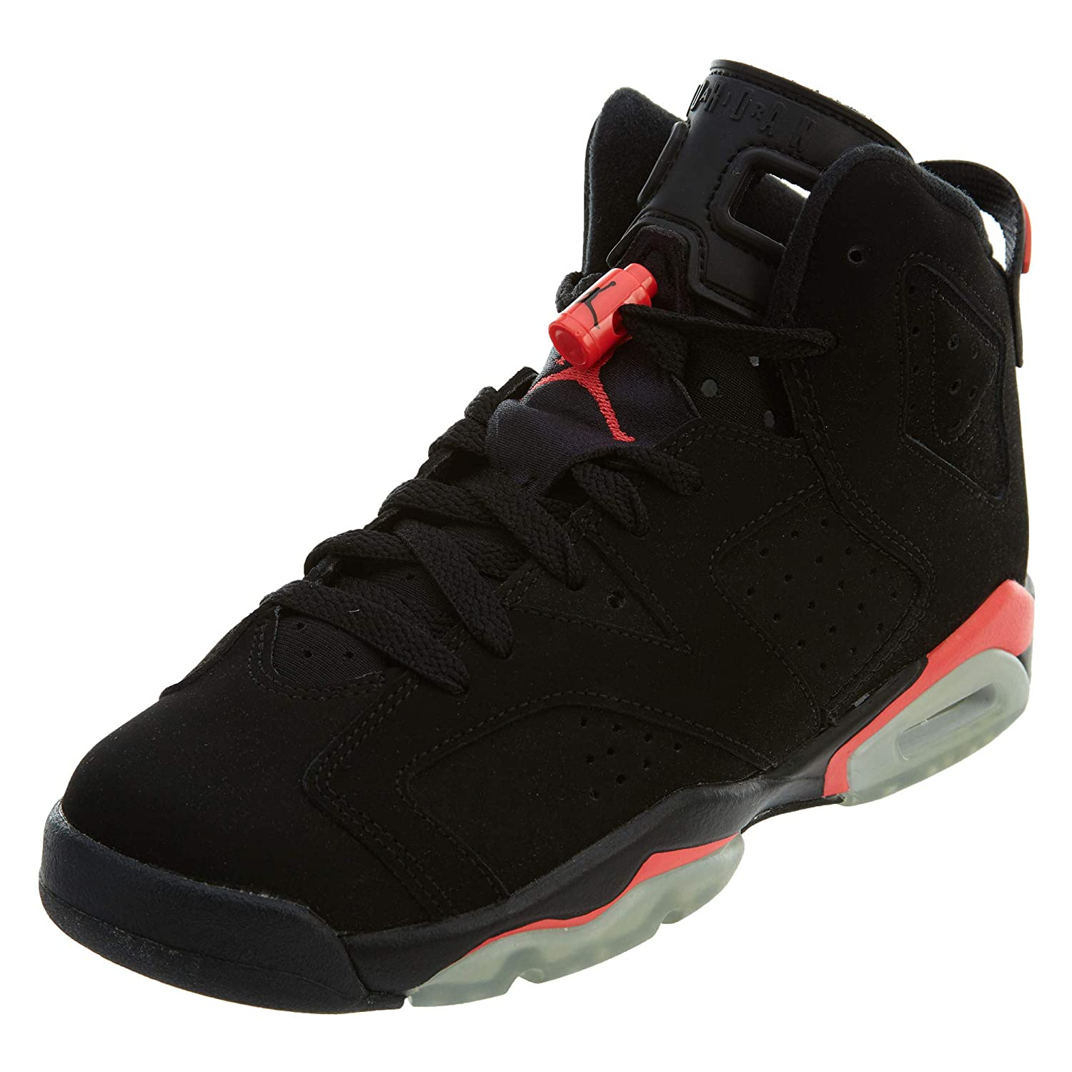 f4692380a75 NIKE NIKE Air Jordan 6 Retro BG - 6. 5Y Infrared - 384665 023  Buy Online  at Low Prices in India - Amazon.in