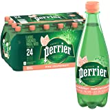 Perrier Pink Grapefruit Flavored Carbonated Mineral Water, 16.9 fl oz. Plastic Bottles (Pack of 24)
