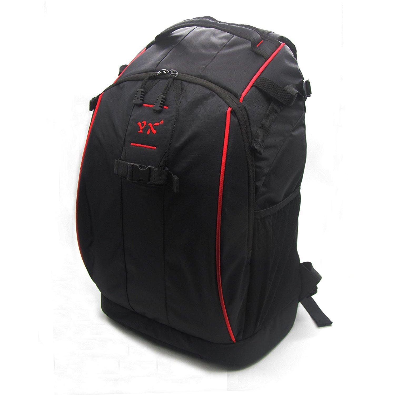 Rantow Housse sac à dos imperméable pour DJI Phantom 4/3/2 Vision / FC40 Quadcopers Nylon Protective Phantom Drone Backpack Sac à dos Noir