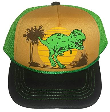 552f0708be3 Image Unavailable. Image not available for. Color  3-24 months Baby Infant  Child Dinosaur Dino Mesh Trucker Hat Cap Snapback