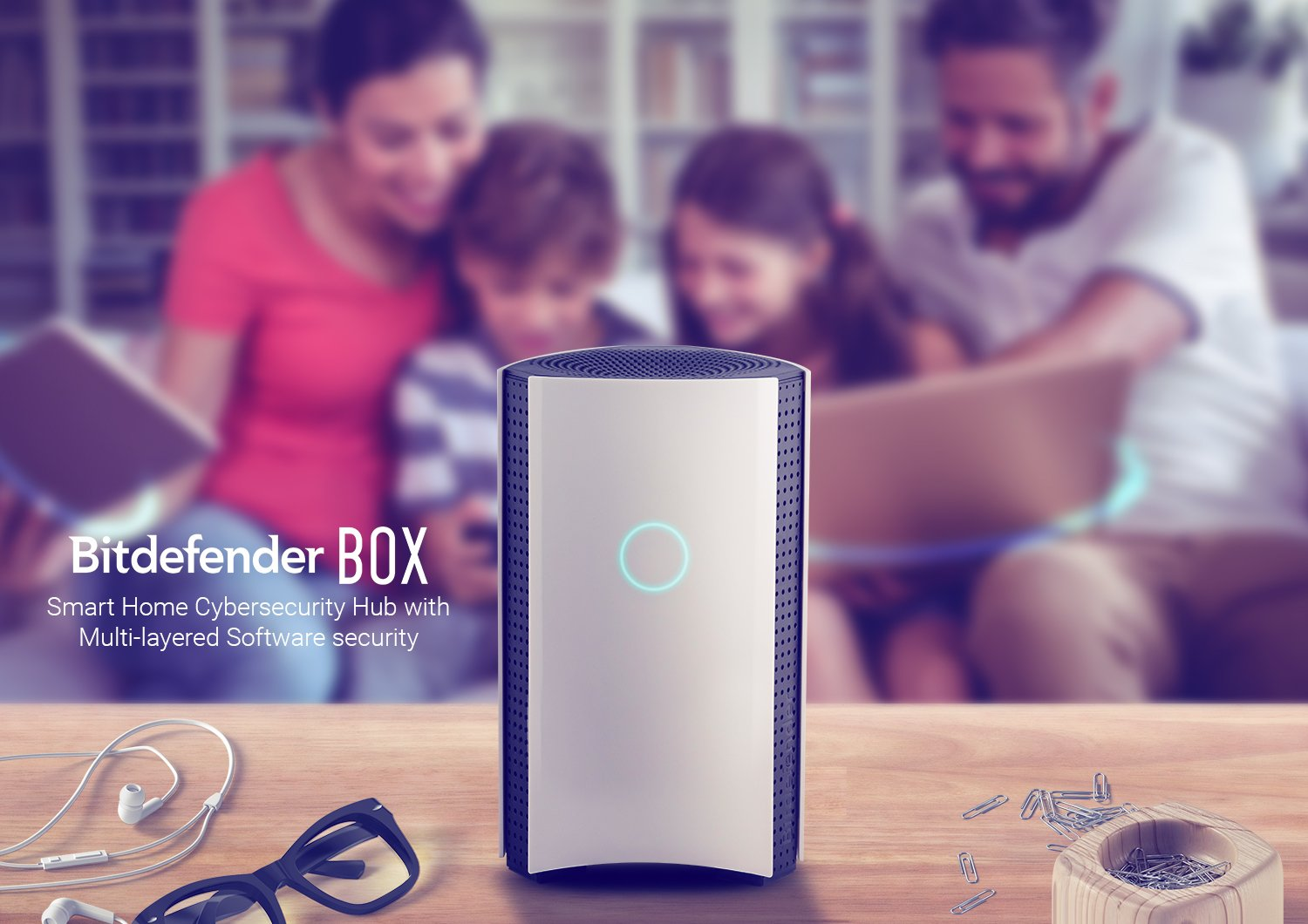 Bitdefender BOX 2 (Latest Version) - Complete Home Network Protection for Your WiFi, Computers, Mobile/Smart Devices and More, Including Alexa and Google Assistant Integration - Plugs Into Your Router 7 Plugs into your (Non-Mesh/Non Google WiFi) router and protects an unlimited number of Wi-Fi and internet connected devices Includes free unlimited BOX support and product setup (a $39.99 value). Before buying, please make sure that your Router can be configured to AP (access point) mode or Bridge mode otherwise BOX 2 will not work BOX automatically detects and optimizes for all your devices during the first 48 hour post-install window. Once complete, experience a protected network with speeds up to 1 Gbps thanks to the 1.2 GHz Dual Core processor and dual 1 Gbps ethernet ports