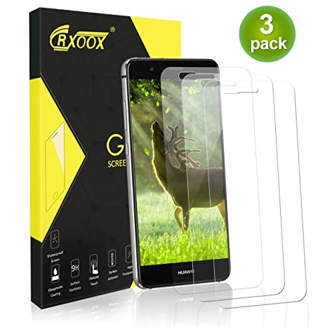 Protection pour Ecran Huawei P10 Lite Lot de 3 Protection Verre Ultra  Résistant Dureté 9H Ecran ee7e94c22063