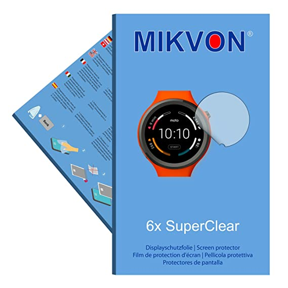 Amazon.com: MIKVON 6X Films Screen Protector SuperClear for ...