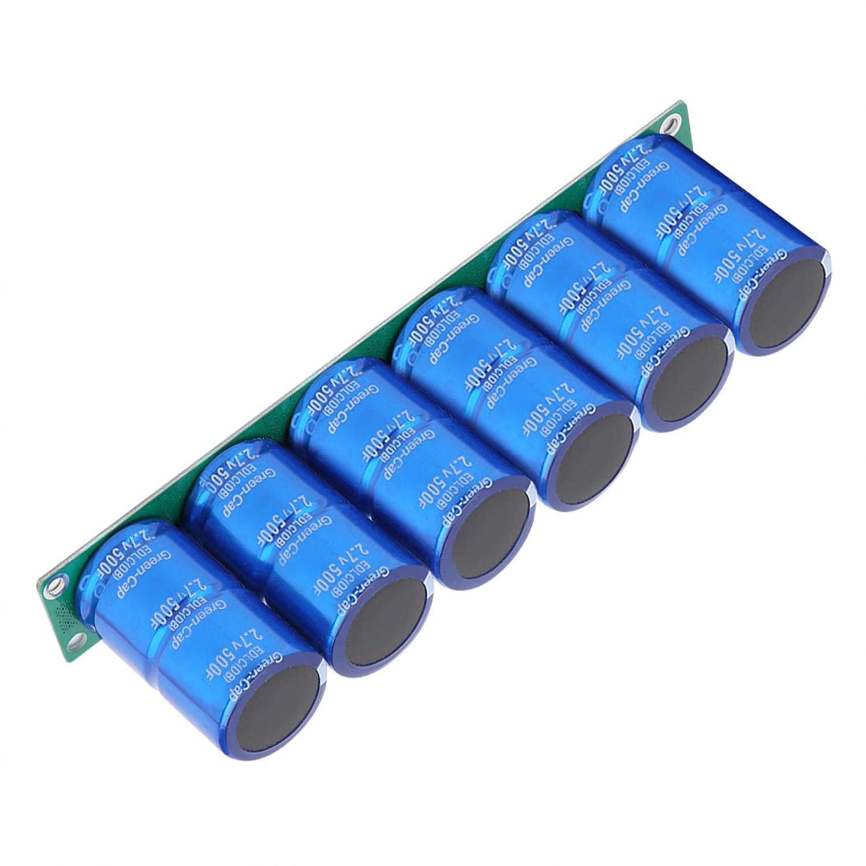 Farad Kondensator 16v 83f Farad Kondensatormodul Superkapazität Aluminium Elektronikkomponenten Für Die Automobilindustrie Mit Schutzplatine Gewerbe Industrie Wissenschaft
