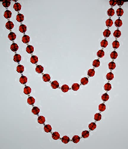 Image Unavailable. Image not available for. Color  Elegant Red and Clear Swarovski  Crystal Necklace 5e466e9a0f