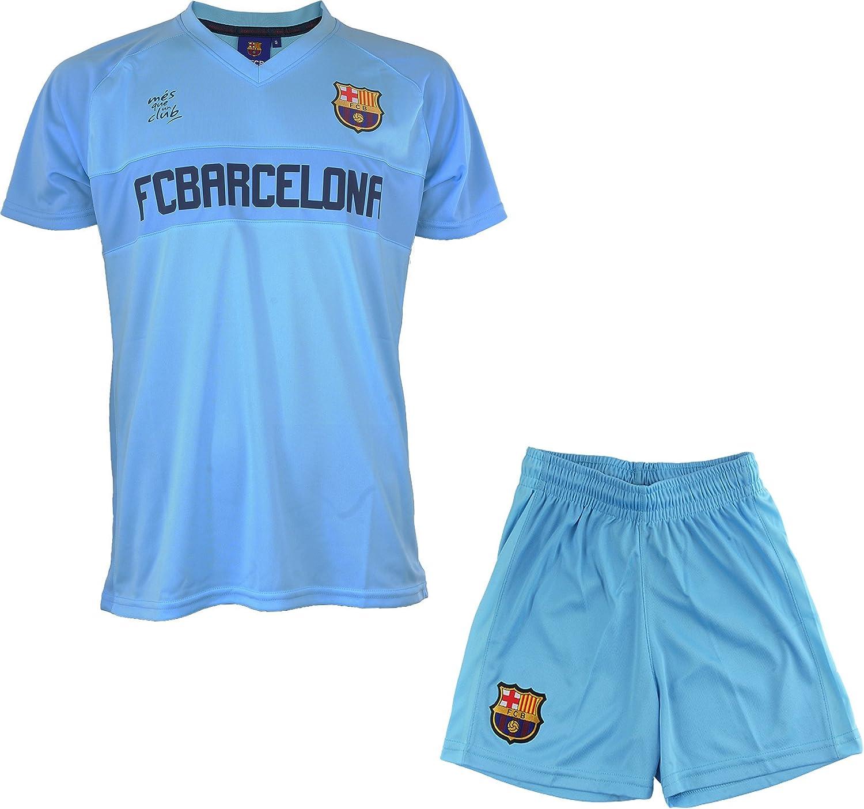 FC Barcelona - Camiseta y pantalón corto del Barça - Colección oficial para niño