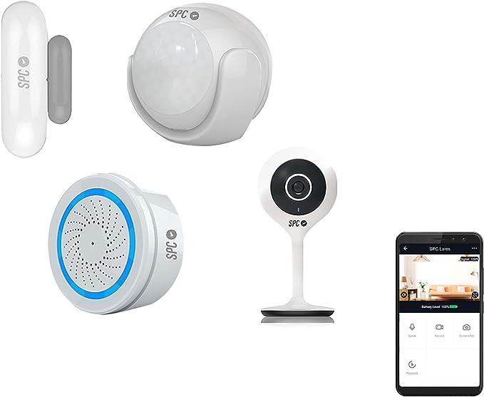 SPC Cámara de Seguridad, Blanco: Spc-Internet: Amazon.es: Electrónica