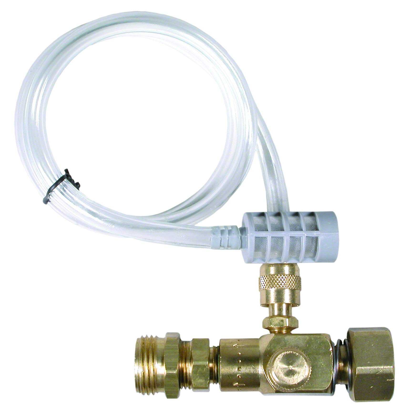 Valley Industries PK-85400003 Up Stream Chemical Injector-High Pressure, 3500 PSI, 8.0GPM, Brass