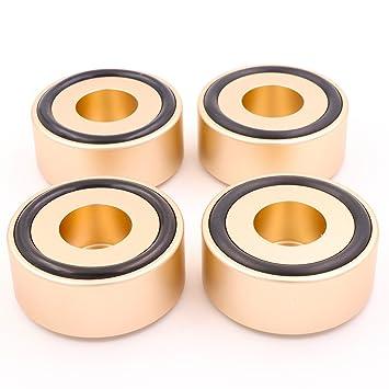 Diseño floral 49 x 22 mm Golden aleación de aluminio ...