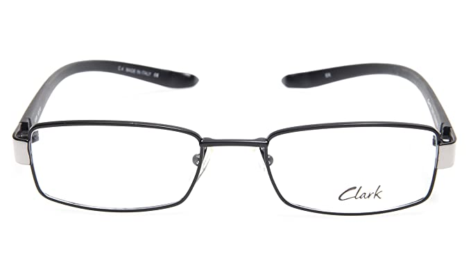 5cafd030834 NEW CLARK by TREVI COLISEUM K895 C4 BLACK EYEGLASSES FRAME 52-19-160 ...