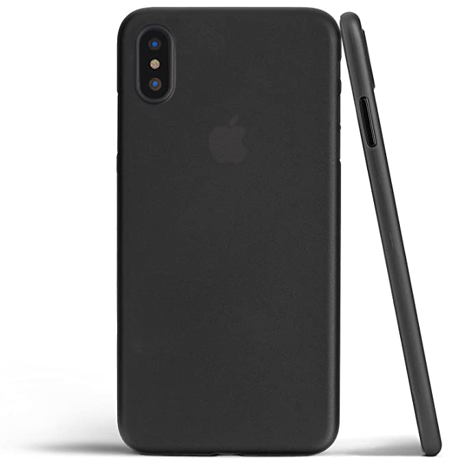 separation shoes 040dd d03ab totallee iPhone X Case, Thinnest Cover Premium Ultra Thin Light Slim  Minimal Anti-Scratch Protective - for Apple iPhone X (2017) (Matte Black)