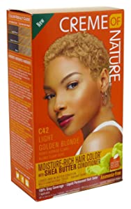 Creme Of Nature Color C42 Light Golden Blonde (3 Pack)