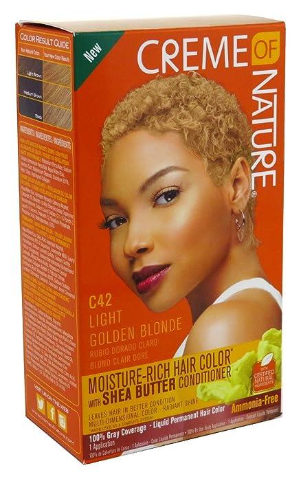 Creme Of Nature Color C42 Light Golden Blonde