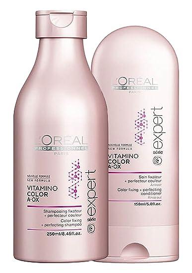 loreal professionnel paris vitamino color shampoo 845oz conditioner 5oz - Shampooing Vitamino Color