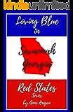 Loving Blue in Red States: Savannah Georgia