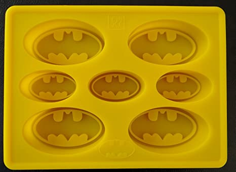 Amazon.com: Batman Logo silicona torta de cumpleaños Pan ...