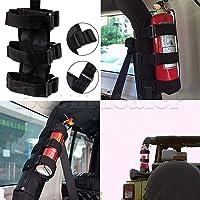 FidgetFidget Soporte de Barra de Rodillo extintor de Fuego para Jeep TJ JK CJ Wrangler, Accesorio de Nailon Nuevo