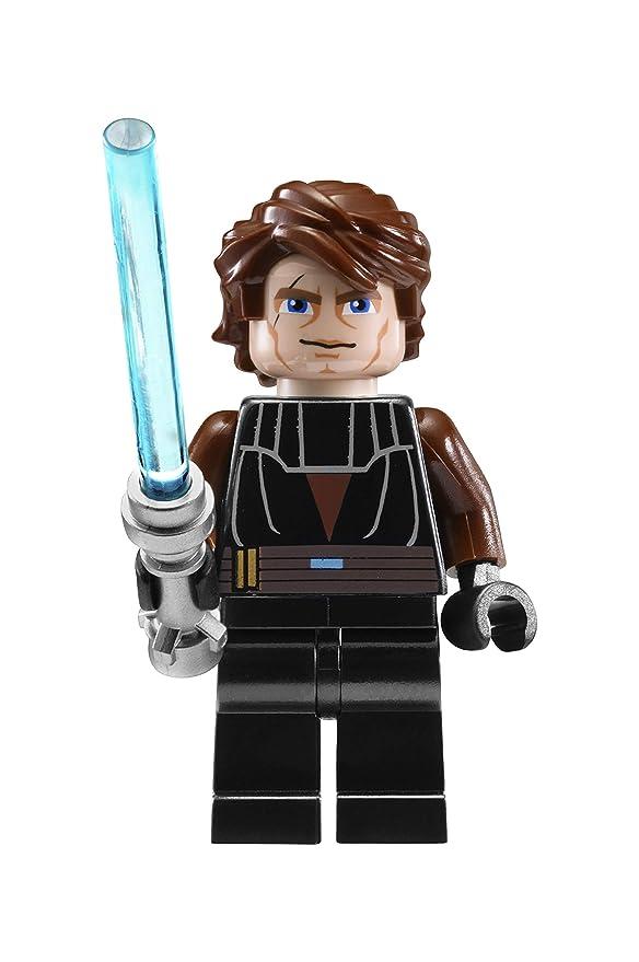 Reloj modificable infantil de Anakin de LEGO Star Wars 8020288 con pulsera por piezas y figurita