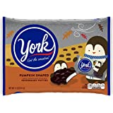 YORK Peppermint Fall Harvest Pumpkin-Shaped Patties (Gluten-Free Dark Chocolate Covered Mint Candy), 11 Ounce Bag (Pack of 7)