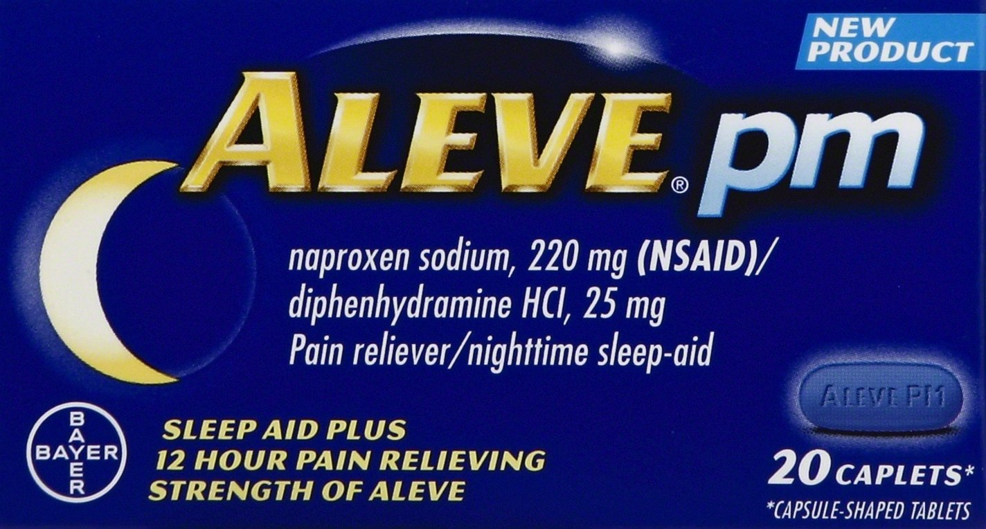 Aleve PM Caplets, 20 ct by Aleve
