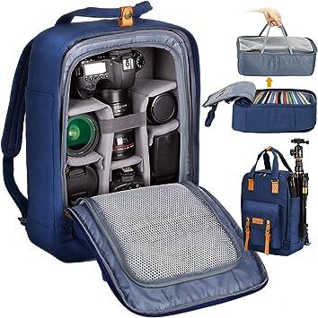 Professional Camera Backpack Travel Photography Bag Shoulder Multifunction SLR Digital Camera Casual Camera Bag Travel Camera Bag Digital SLR Camera Storage Bag Color : Green