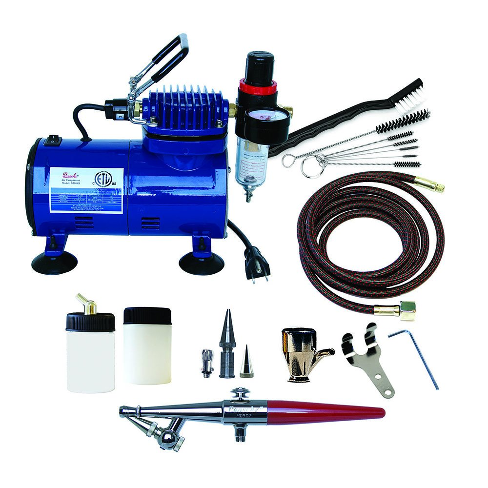 Paasche H-100D Single Action Airbrush & Compressor Package Paasche Airbrush