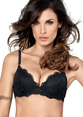 0962c5ae9b Lormar My Class Push-Up Gel Cup Bra at Amazon Women s Clothing store