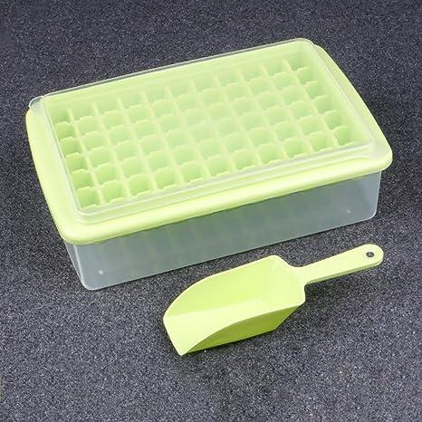 Bandejas de Hielo Bandejas de cubitos de hielo, moldes flexibles de cubitos de hielo,