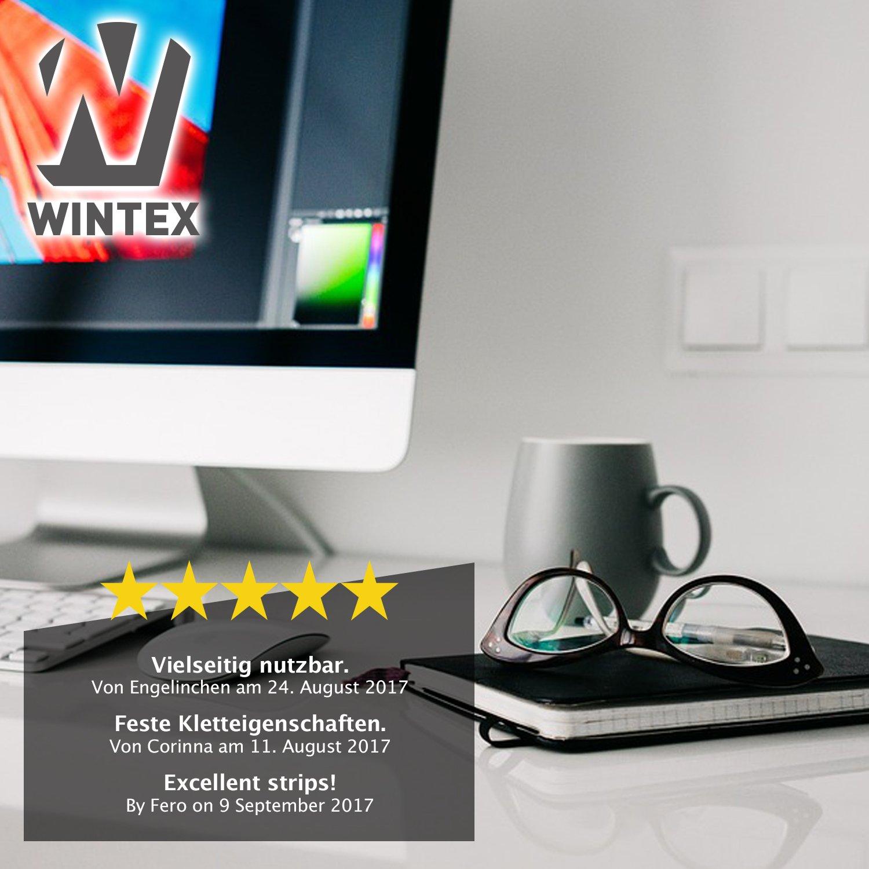 WINTEX 25 wiederverwendbare Klettkabelbinder in 3 verschiedenen ...