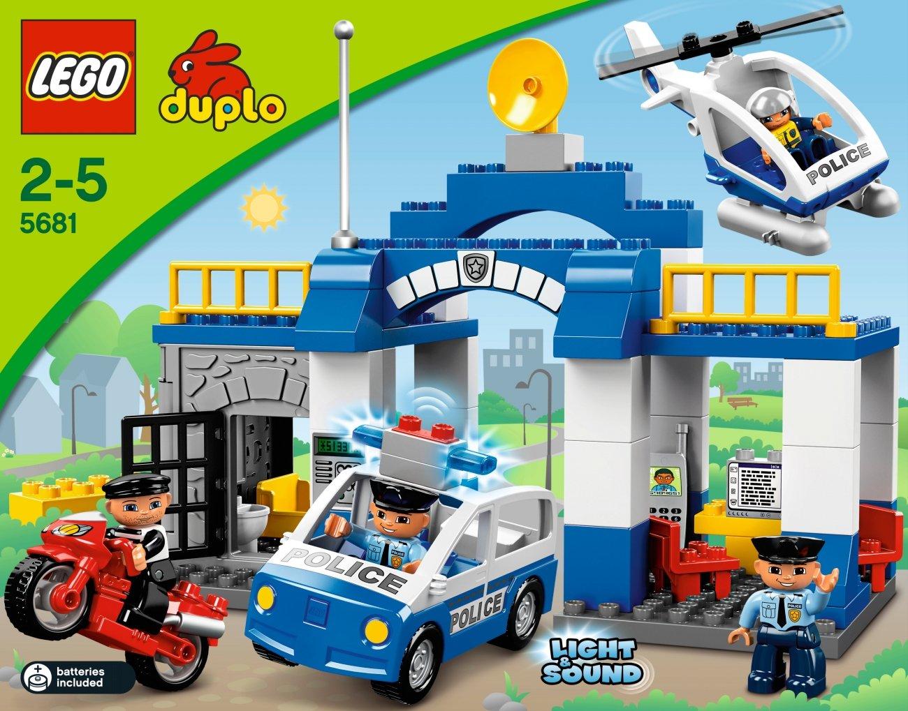 Lego Duplo Ville 5681 Police Station Amazon Toys Games