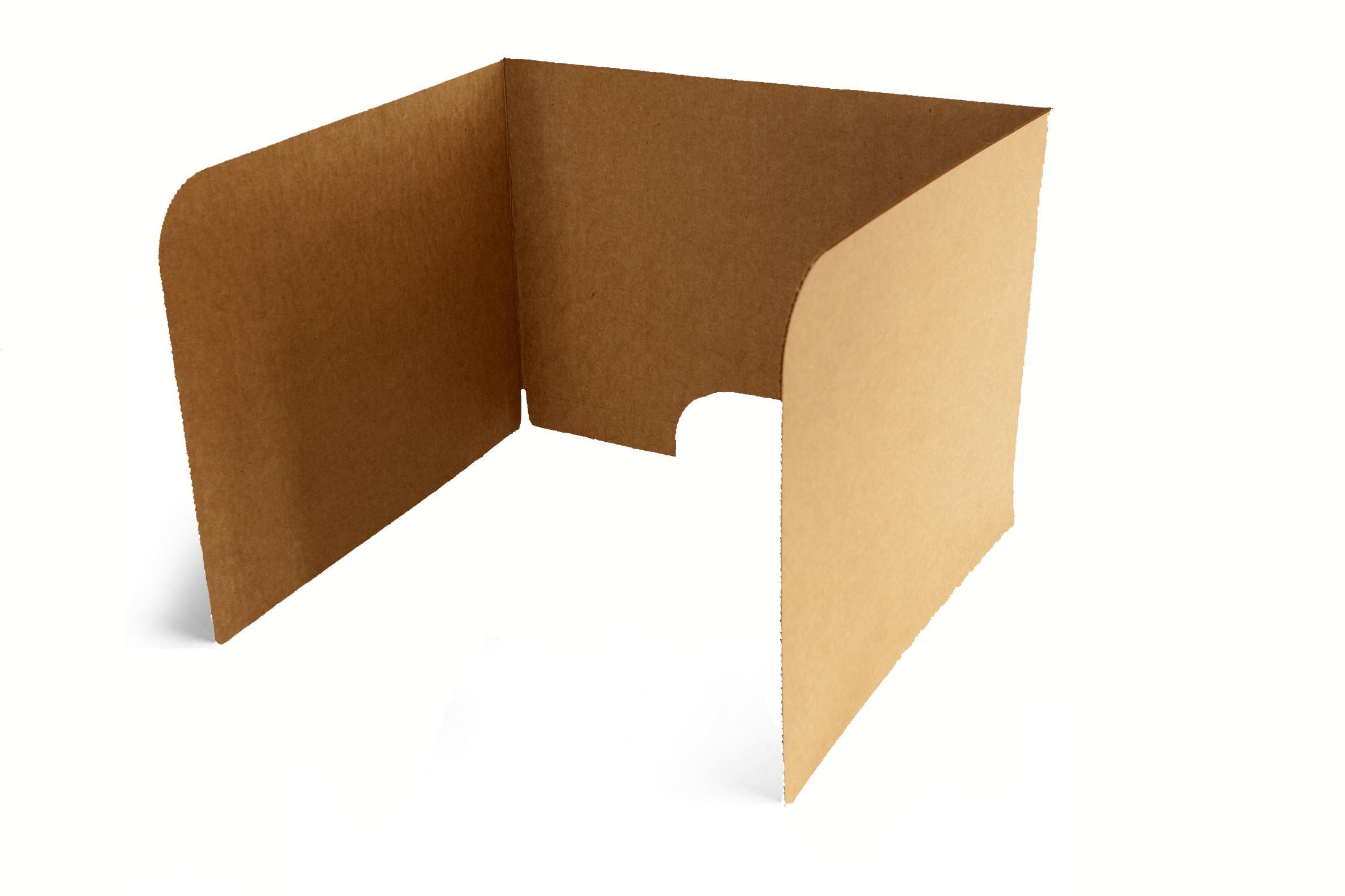Classroom Products Computer Privacy Shield 19 Inch Tall - Kraft - (Pack of 10)
