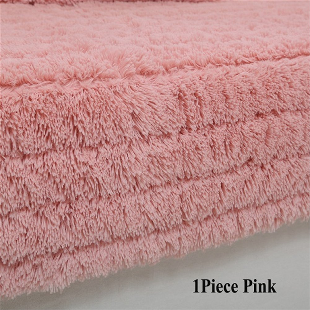 Hoxekle 1 Piece Plush Sofa Cover Towel Fluffy Soft Slipcover Resistant Seat Couch Cover For Living Room Window Mats L-shaped Sofa Decor